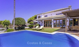 Charming, very spacious Mediterranean style villa for sale, walking distance to the beach, Marbella East 14482