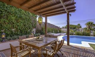Charming, very spacious Mediterranean style villa for sale, walking distance to the beach, Marbella East 14489