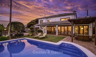 Charming, very spacious Mediterranean style villa for sale, walking distance to the beach, Marbella East 14494
