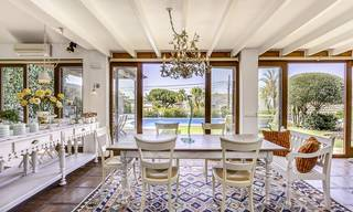 Charming, very spacious Mediterranean style villa for sale, walking distance to the beach, Marbella East 14496