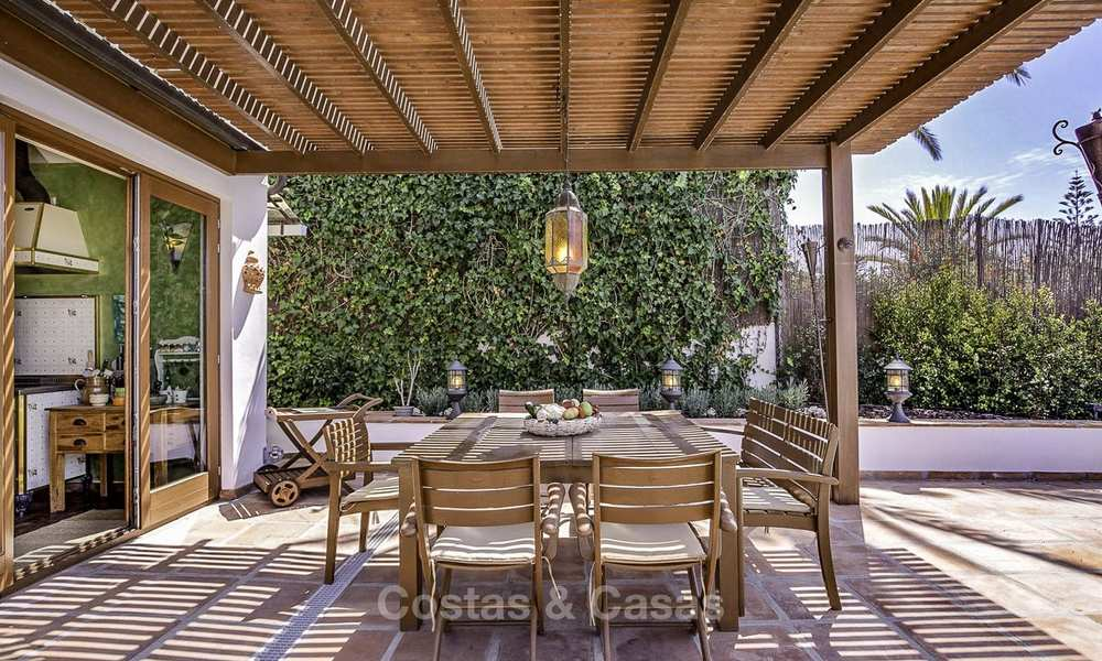Charming, very spacious Mediterranean style villa for sale, walking distance to the beach, Marbella East 14497