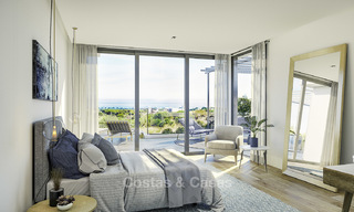 New modern luxury villas with amazing sea views for sale, frontline golf in East Marbella 17399