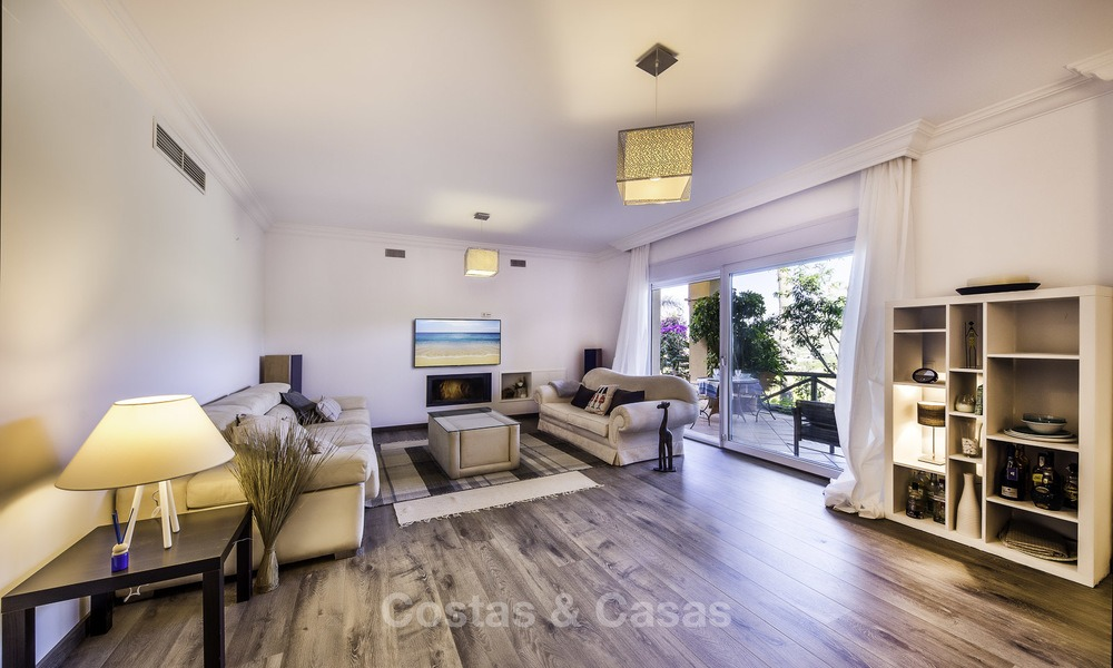 Recently renovated semi-detached house with spectacular views for sale, frontline golf, East Marbella 14665