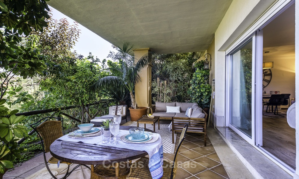 Recently renovated semi-detached house with spectacular views for sale, frontline golf, East Marbella 14672