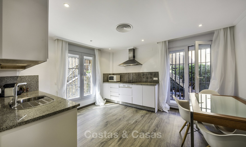 Recently renovated semi-detached house with spectacular views for sale, frontline golf, East Marbella 14673