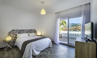 Recently renovated semi-detached house with spectacular views for sale, frontline golf, East Marbella 14678