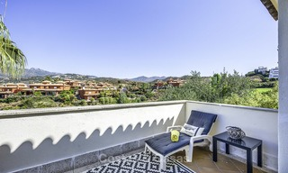Recently renovated semi-detached house with spectacular views for sale, frontline golf, East Marbella 14687