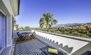 Recently renovated semi-detached house with spectacular views for sale, frontline golf, East Marbella 14688