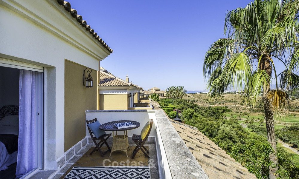 Recently renovated semi-detached house with spectacular views for sale, frontline golf, East Marbella 14689