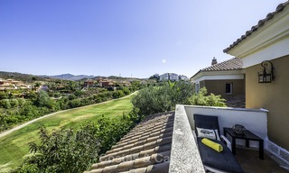 Recently renovated semi-detached house with spectacular views for sale, frontline golf, East Marbella 14690