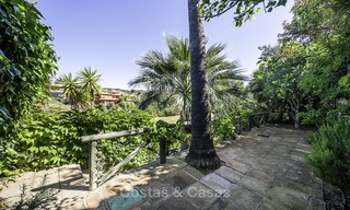 Recently renovated semi-detached house with spectacular views for sale, frontline golf, East Marbella 14691