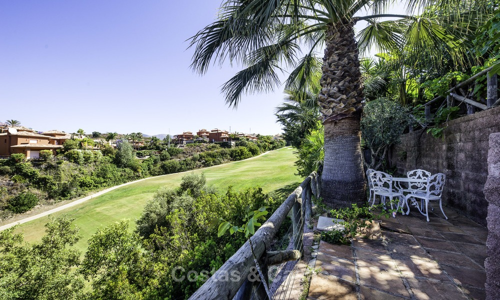 Recently renovated semi-detached house with spectacular views for sale, frontline golf, East Marbella 14692