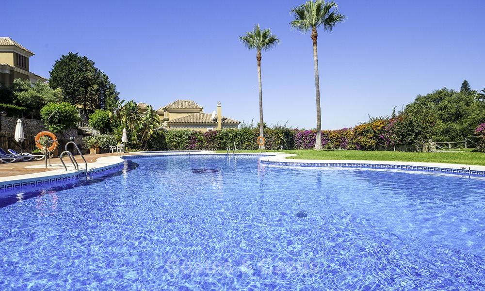 Recently renovated semi-detached house with spectacular views for sale, frontline golf, East Marbella 14695