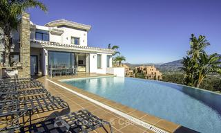 Magnificent modern-Andalusian villa with amazing panoramic views for sale in East Marbella 14787