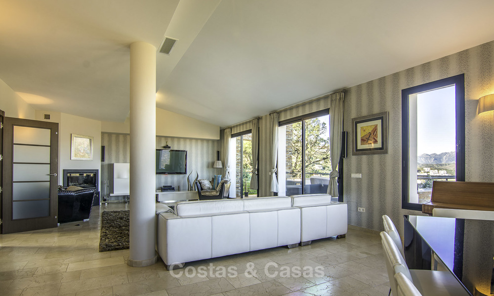 Magnificent modern-Andalusian villa with amazing panoramic views for sale in East Marbella 14796