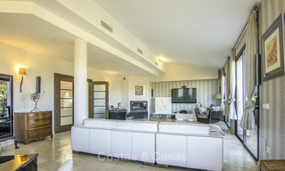 Magnificent modern-Andalusian villa with amazing panoramic views for sale in East Marbella 14799