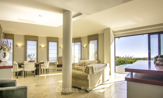 Magnificent modern-Andalusian villa with amazing panoramic views for sale in East Marbella 14802