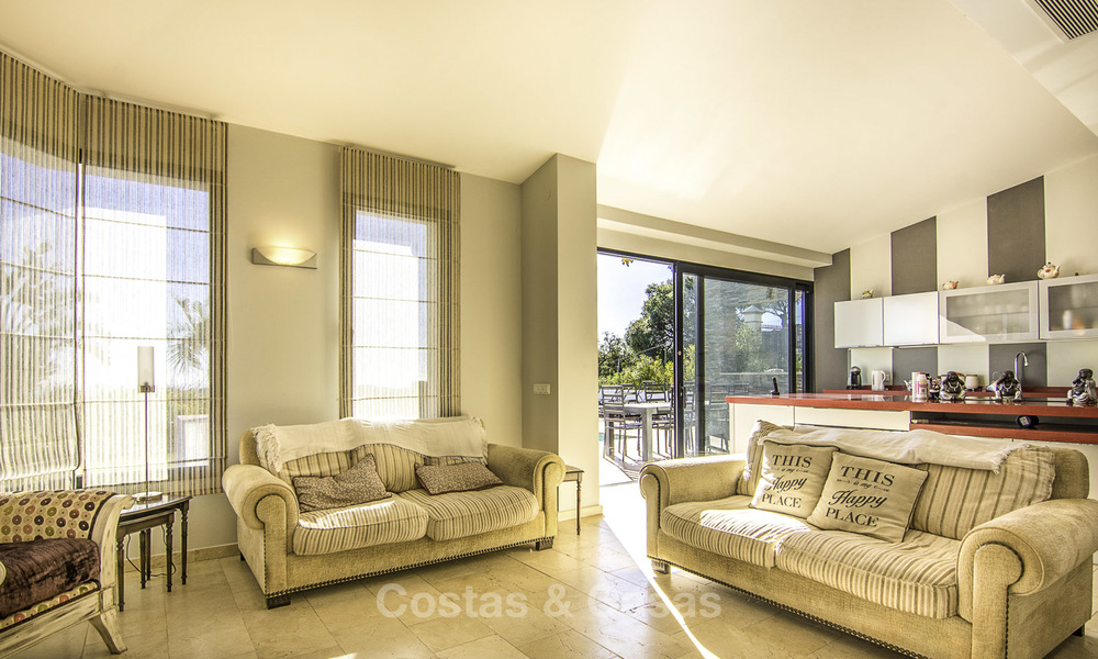 Magnificent modern-Andalusian villa with amazing panoramic views for sale in East Marbella 14804