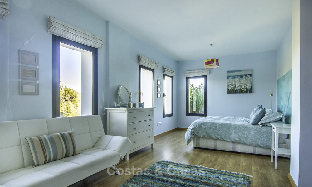 Magnificent modern-Andalusian villa with amazing panoramic views for sale in East Marbella 14813