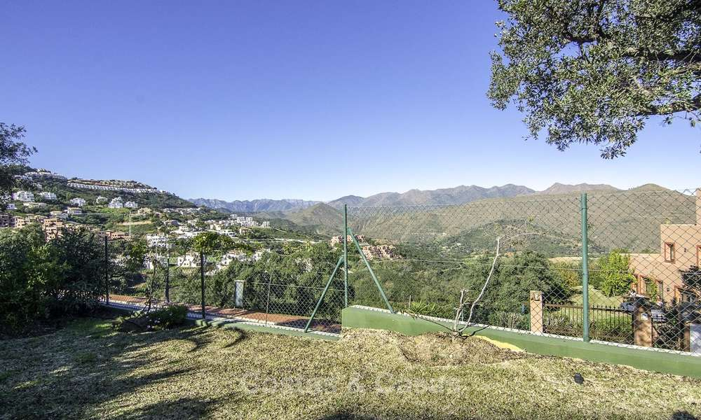 Magnificent modern-Andalusian villa with amazing panoramic views for sale in East Marbella 14818