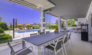 Elegant and very spacious modern-classic villa for sale, frontline golf in East Marbella 14871