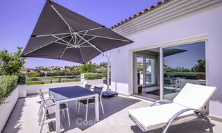 Elegant and very spacious modern-classic villa for sale, frontline golf in East Marbella 14885