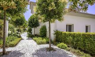 Elegant and very spacious modern-classic villa for sale, frontline golf in East Marbella 14898