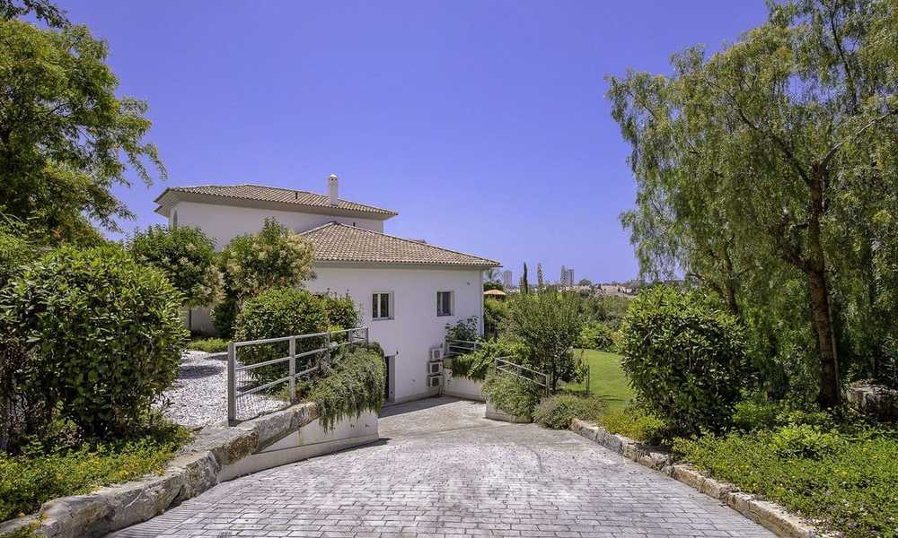 Elegant and very spacious modern-classic villa for sale, frontline golf in East Marbella 14900