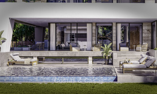 Gorgeous new modern-contemporary luxury villa with sea views for sale in a classy golf resort, Mijas, Costa del Sol 16352