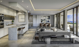 Gorgeous new modern-contemporary luxury villa with sea views for sale in a classy golf resort, Mijas, Costa del Sol 16353