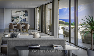 Gorgeous new modern-contemporary luxury villa with sea views for sale in a classy golf resort, Mijas, Costa del Sol 16354