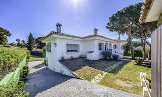 Spacious classical villa with excellent potential for sale in a quiet area of Elviria in East Marbella 15189