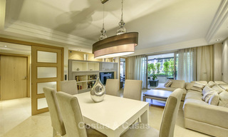 Very spacious modern luxury apartment for sale in a prestigious urbanisation on the Golden Mile, Marbella 15255