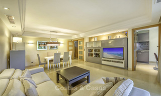 Very spacious modern luxury apartment for sale in a prestigious urbanisation on the Golden Mile, Marbella 15257