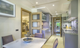 Very spacious modern luxury apartment for sale in a prestigious urbanisation on the Golden Mile, Marbella 15260