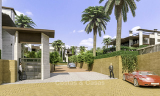 New mansion-style modern luxury villas for sale, walking distance to Puerto Banus, on the Golden Mile in Marbella 15299