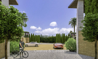 New mansion-style modern luxury villas for sale, walking distance to Puerto Banus, on the Golden Mile in Marbella 15304