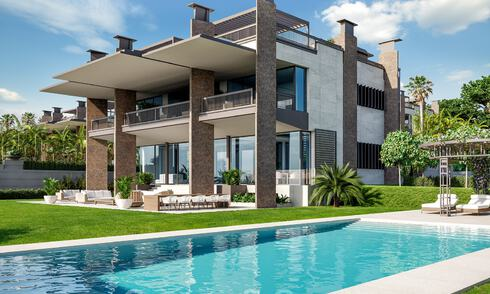 New mansion-style modern luxury villas for sale, walking distance to Puerto Banus, on the Golden Mile in Marbella 29468