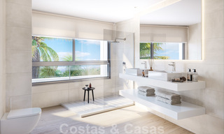 New deluxe frontline golf apartments with outstanding sea and golf views for sale in East Marbella 22192