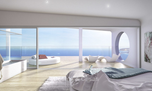 Last remaining new penthouse in a contemporary luxury complex for sale, with spectacular sea views in Benalmadena 16755