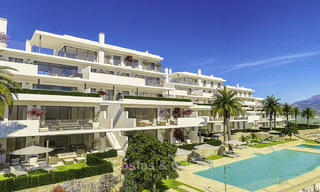 Stylish new contemporary apartments with sea views for sale in one of the best golf resorts around, Casares, Costa del Sol 16708