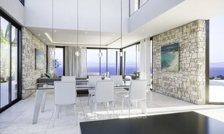 Superb modern-contemporary villa with sea views for sale in a top class golf resort, Mijas, Costa del Sol 16356