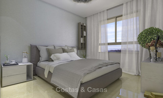 New, move-in ready, modern townhouses for sale on an acclaimed golf resort in Mijas, Costa del Sol. 10% discount! 15648