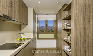 New, move-in ready, modern townhouses for sale on an acclaimed golf resort in Mijas, Costa del Sol. 10% discount! 15654