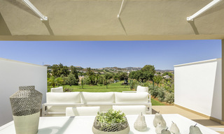 New, move-in ready, modern townhouses for sale on an acclaimed golf resort in Mijas, Costa del Sol. 10% discount! 15658