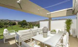 New, move-in ready, modern townhouses for sale on an acclaimed golf resort in Mijas, Costa del Sol. 10% discount! 15659