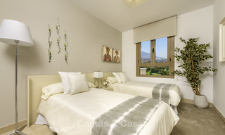 New, move-in ready, modern townhouses for sale on an acclaimed golf resort in Mijas, Costa del Sol. 10% discount! 15663