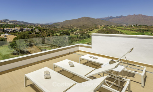 New, move-in ready, modern townhouses for sale on an acclaimed golf resort in Mijas, Costa del Sol 15666