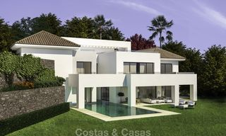 Beautiful contemporary luxury villa with sea and mountain views for sale, Benahavis - Marbella 15881