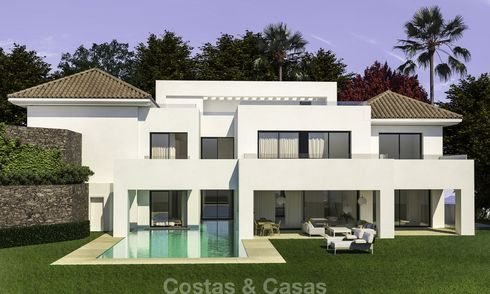 Beautiful contemporary luxury villa with sea and mountain views for sale, Benahavis - Marbella 15882